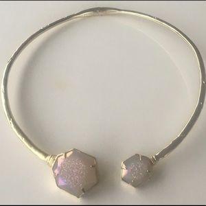 Kendra Scott coursen hinge statement necklace